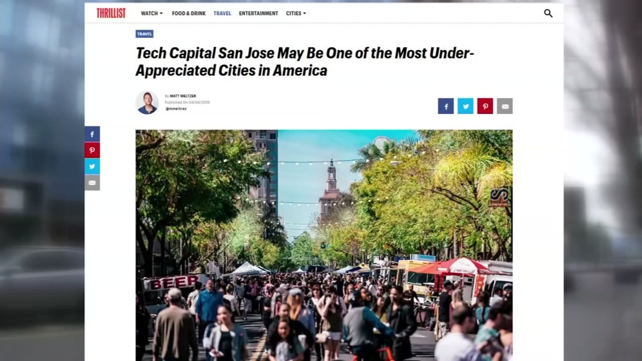 San Jose considered one of the most underappreciated cities in America
