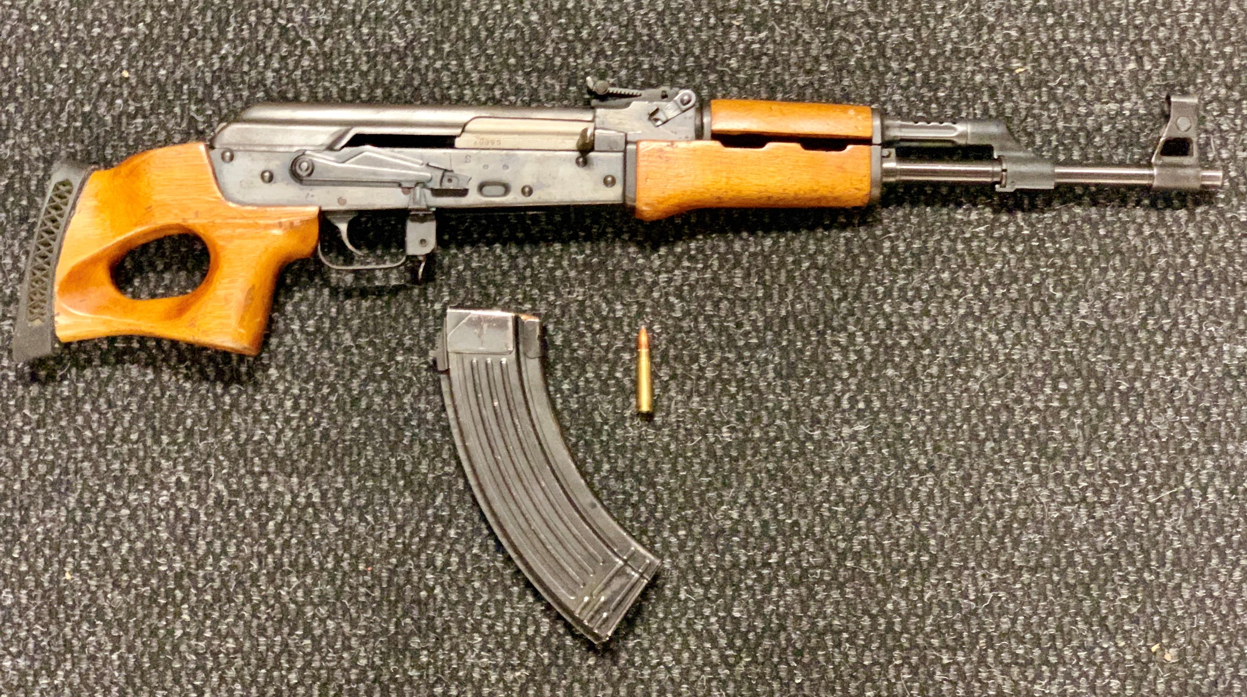 Fairfield Police DUI Enforcement Team recovers AK-47 rifle - ABC7 San  Francisco