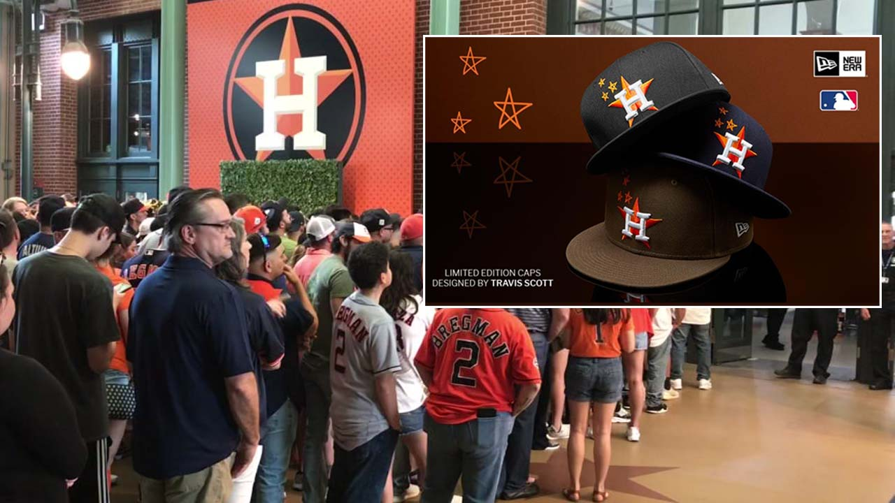782e893779eaf4 Houston Astros Travis Scott hats sold out, sell for hundreds on eBay |  abc13.com
