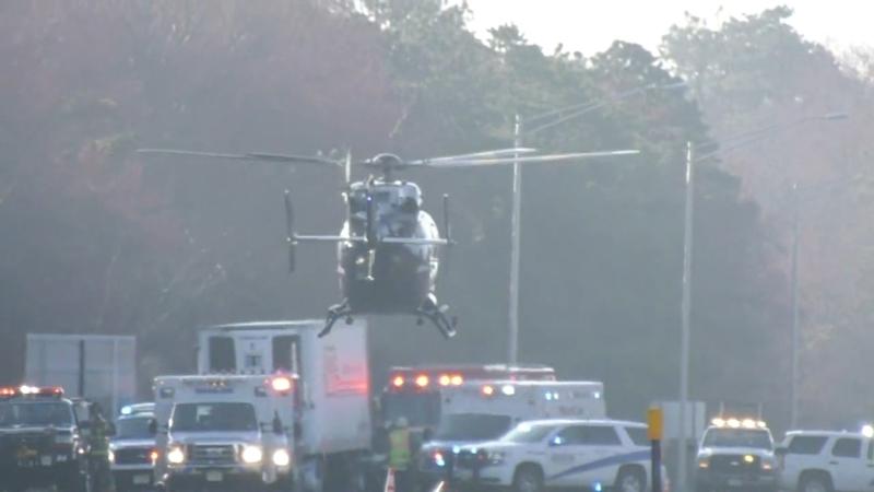 Atlantic City Expressway reopens following crash, rescue