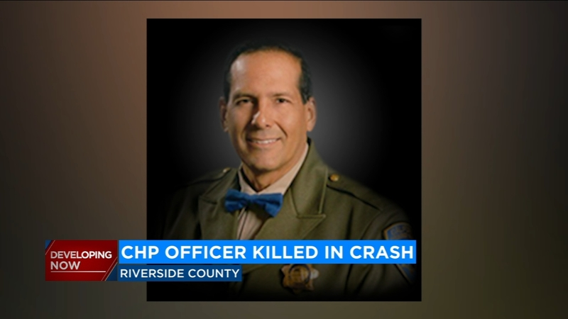 CHP motorcycle officer killed after crash on freeway in Lake Elsinore