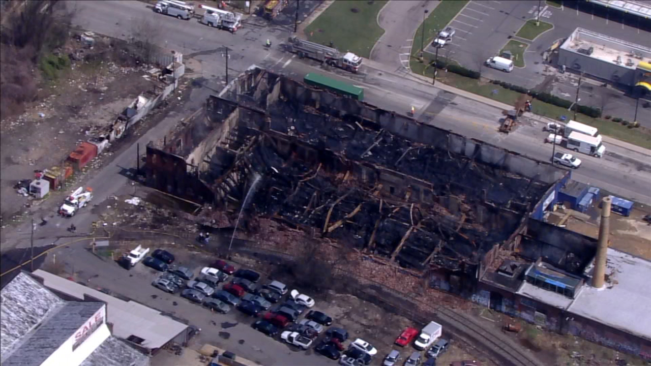 Several business displaced following 4-alarm warehouse fire