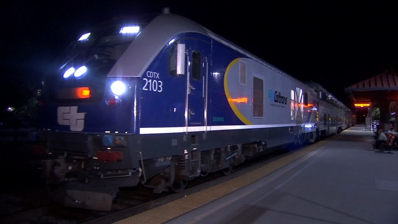Early morning train from Fresno to Sacramento to end