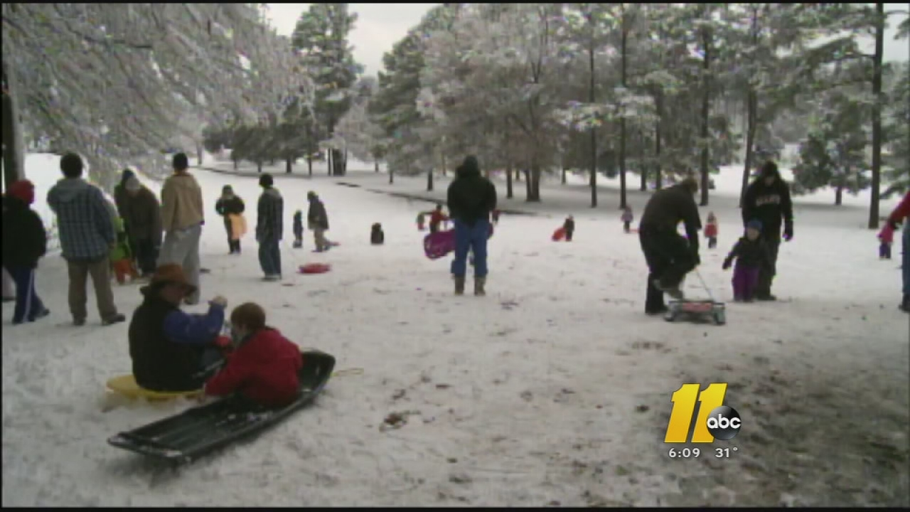 Sledding accidents pile up after snowfall