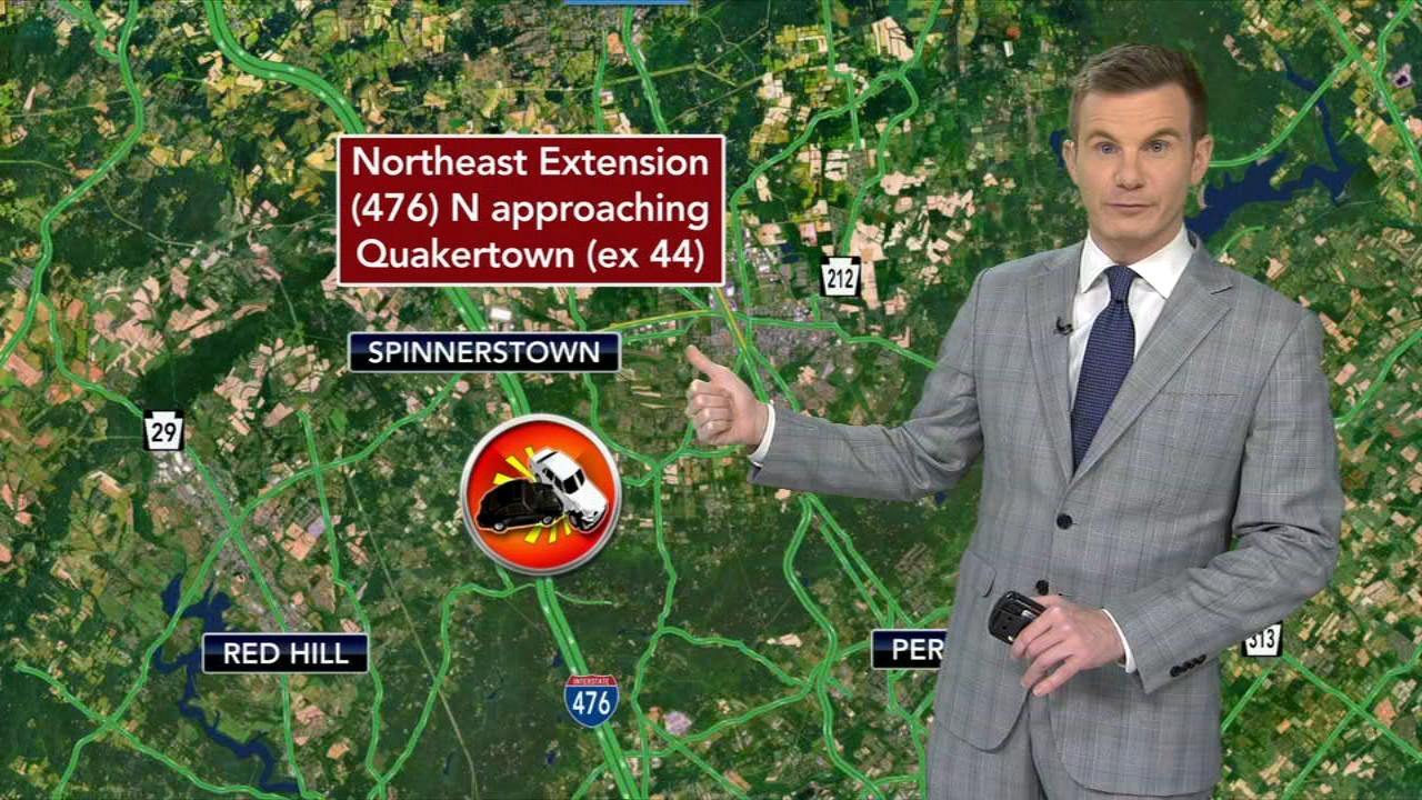 Fatal one-car crash on Northeast Extension of Pennsylvania