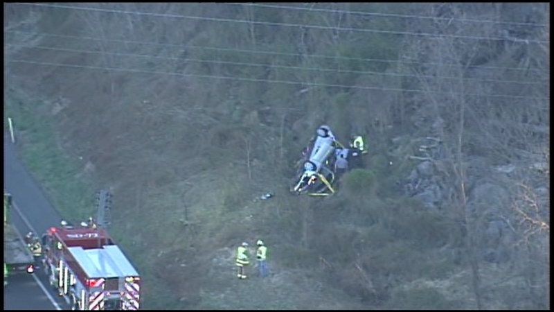 Fatal one-car crash on Northeast Extension