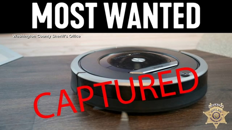 Police respond to 911 call, find Roomba in bathroom