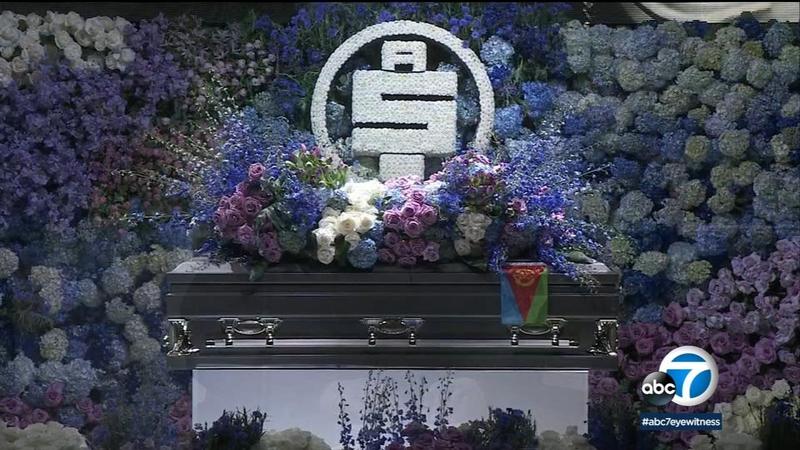 nipsey hussle funeral televised