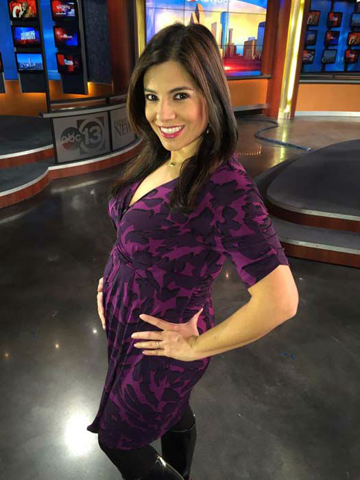 "<div class=""meta image-caption""><div class=""origin-logo origin-image none""><span>none</span></div><span class=""caption-text"">Patricia Lopez showing off her new baby bump (KTRK Photo)</span></div>"
