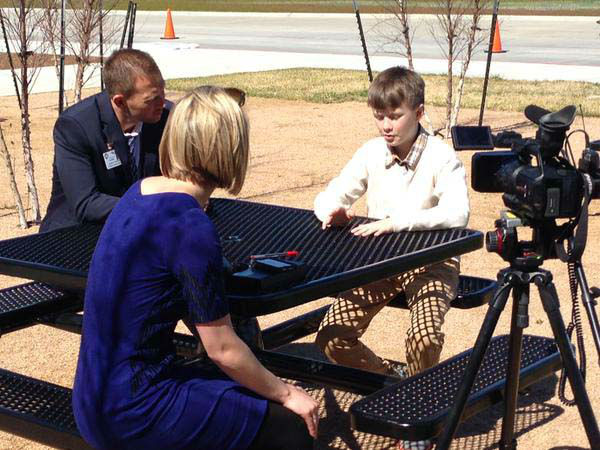 """<div class=""""meta image-caption""""><div class=""""origin-logo origin-image none""""><span>none</span></div><span class=""""caption-text"""">Kaitlin McCulley sits down for an interview (KTRK Photo)</span></div>"""