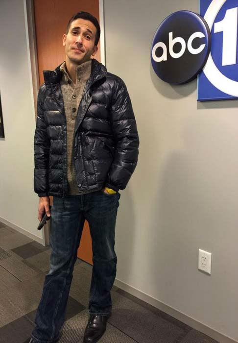 "<div class=""meta image-caption""><div class=""origin-logo origin-image none""><span>none</span></div><span class=""caption-text"">David Nuno came to work dressed down as he traveled to Indy (KTRK Photo)</span></div>"