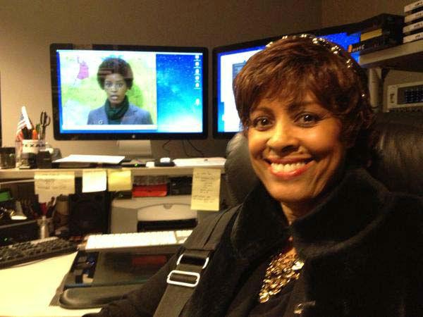 "<div class=""meta image-caption""><div class=""origin-logo origin-image none""><span>none</span></div><span class=""caption-text"">Diana Fallis, one of ABC-13's first female black anchors visited the studio (KTRK Photo)</span></div>"