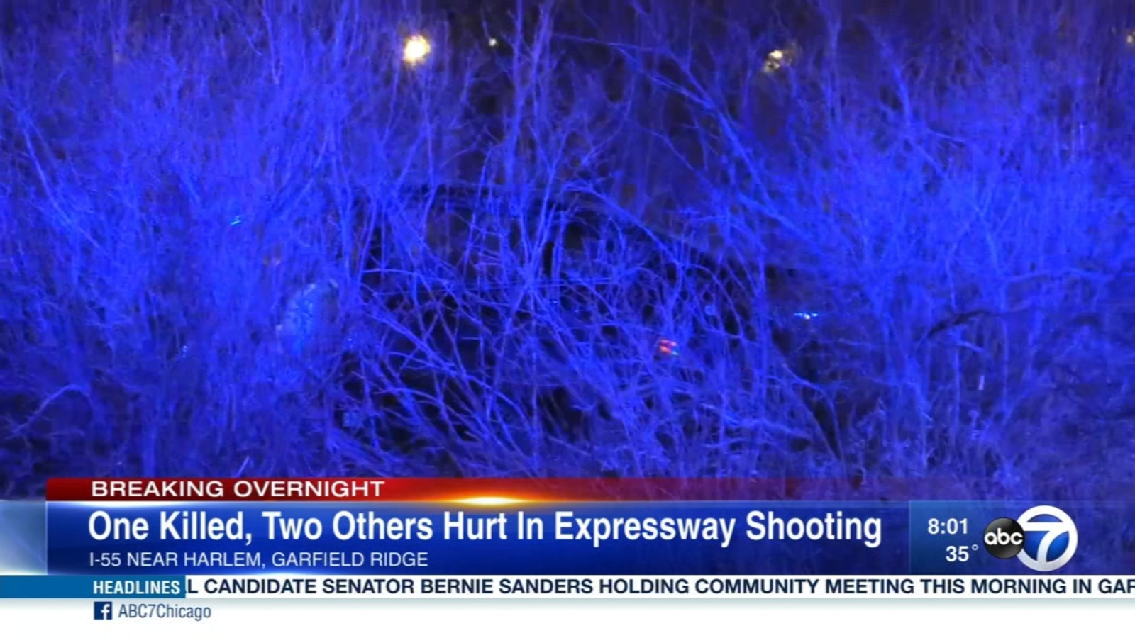 I-55 shooting closes Stevenson Expressway for hours; 1 dead, 2 wounded