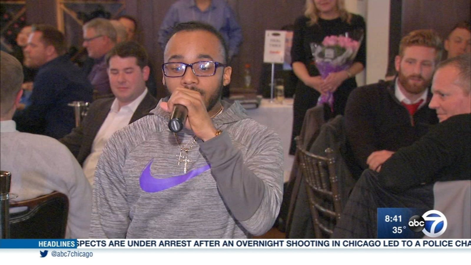 Chicago Lighthouse helps resident Rapper pursue his dreams