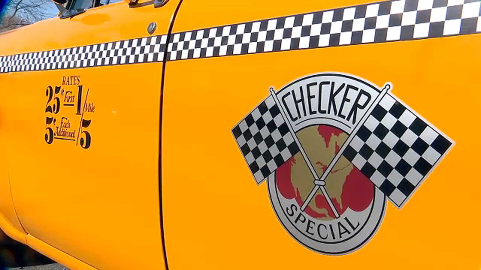 'The Checker Guy' brings classic cab to screens big and small