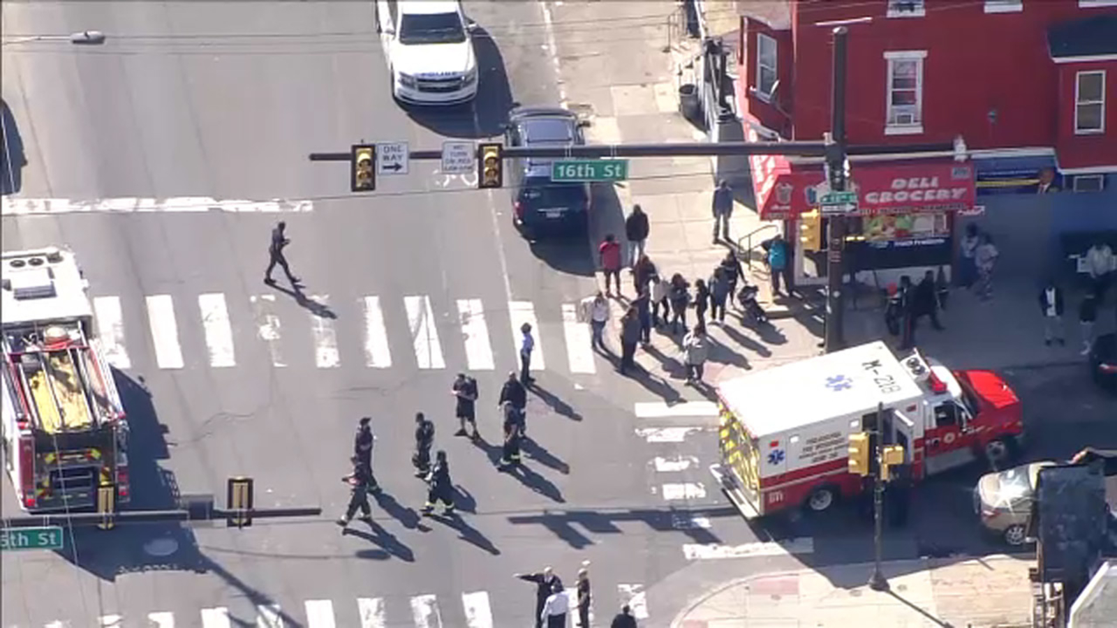 Pedestrian accident leaves 3 injured in North Philadelphia