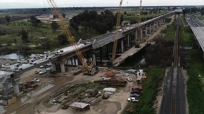 Cost climbs by $2 8 billion for California high speed rail