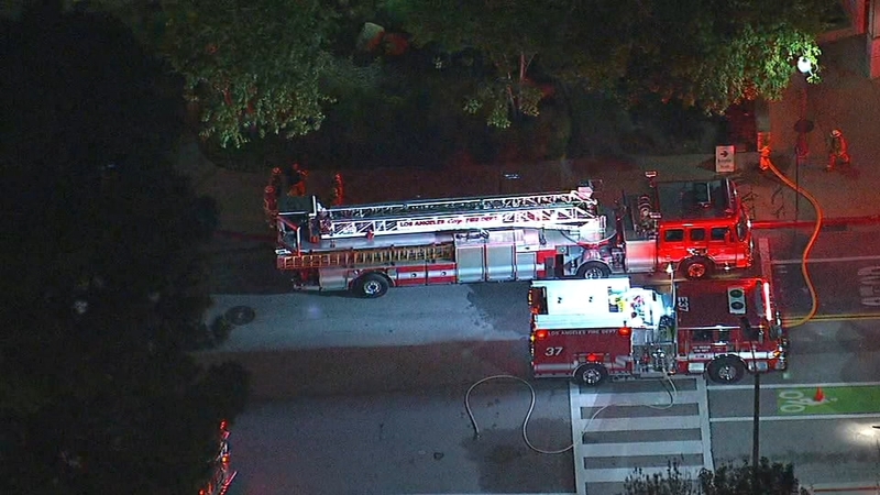 UCLA lab incident triggers LAFD hazmat response