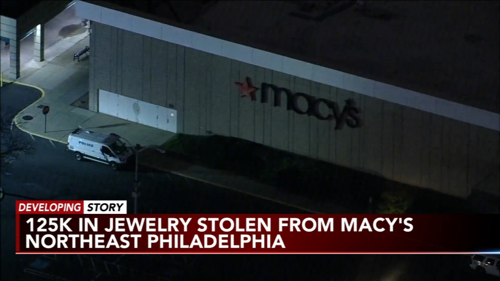 $125K of jewelry stolen from Northeast Philadelphia Macy's