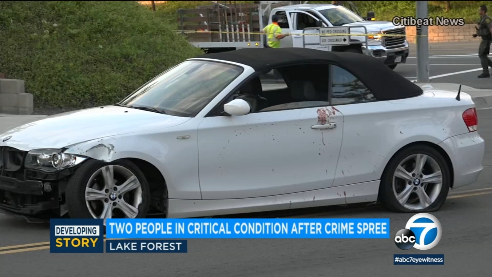 Bloody Lake Forest rampage: Man arrested after stabbing, home invasion, carjacking