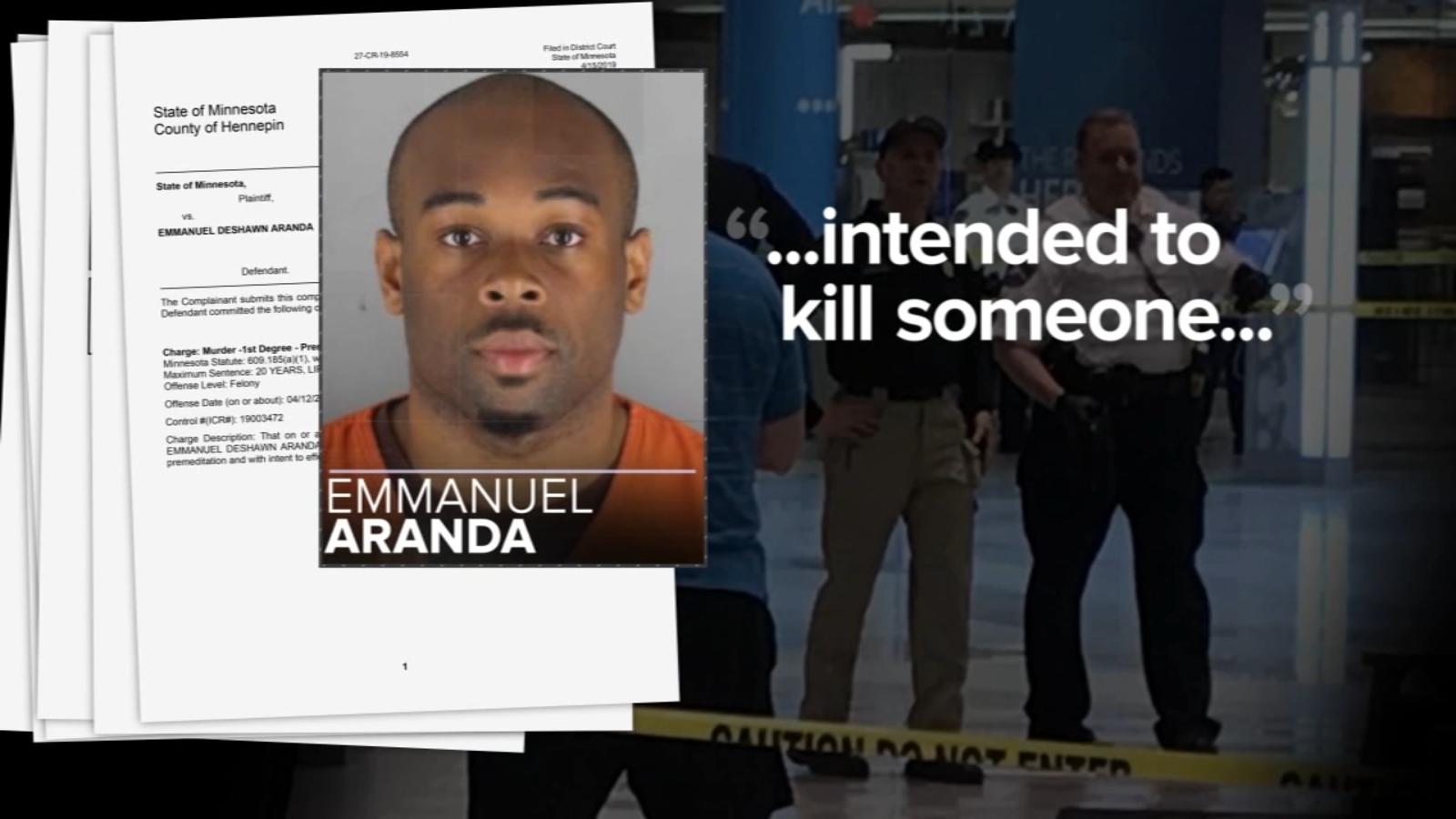 Mall of America suspect Emmanuel Aranda, who was 'looking ... Emmanuel Aranda