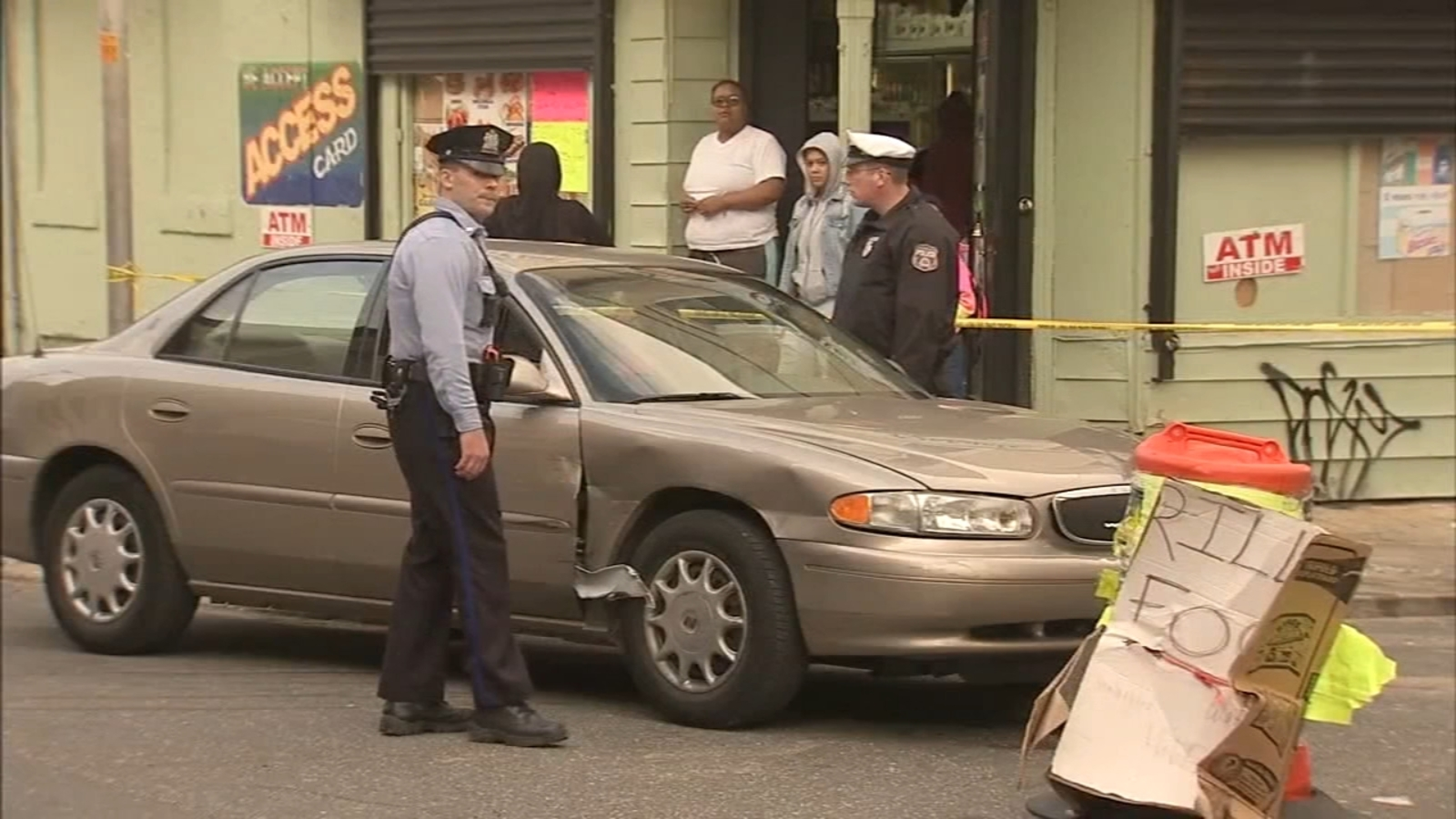 Police: 6 victims hit by car in North Philadelphia, and car's driver, under investigation