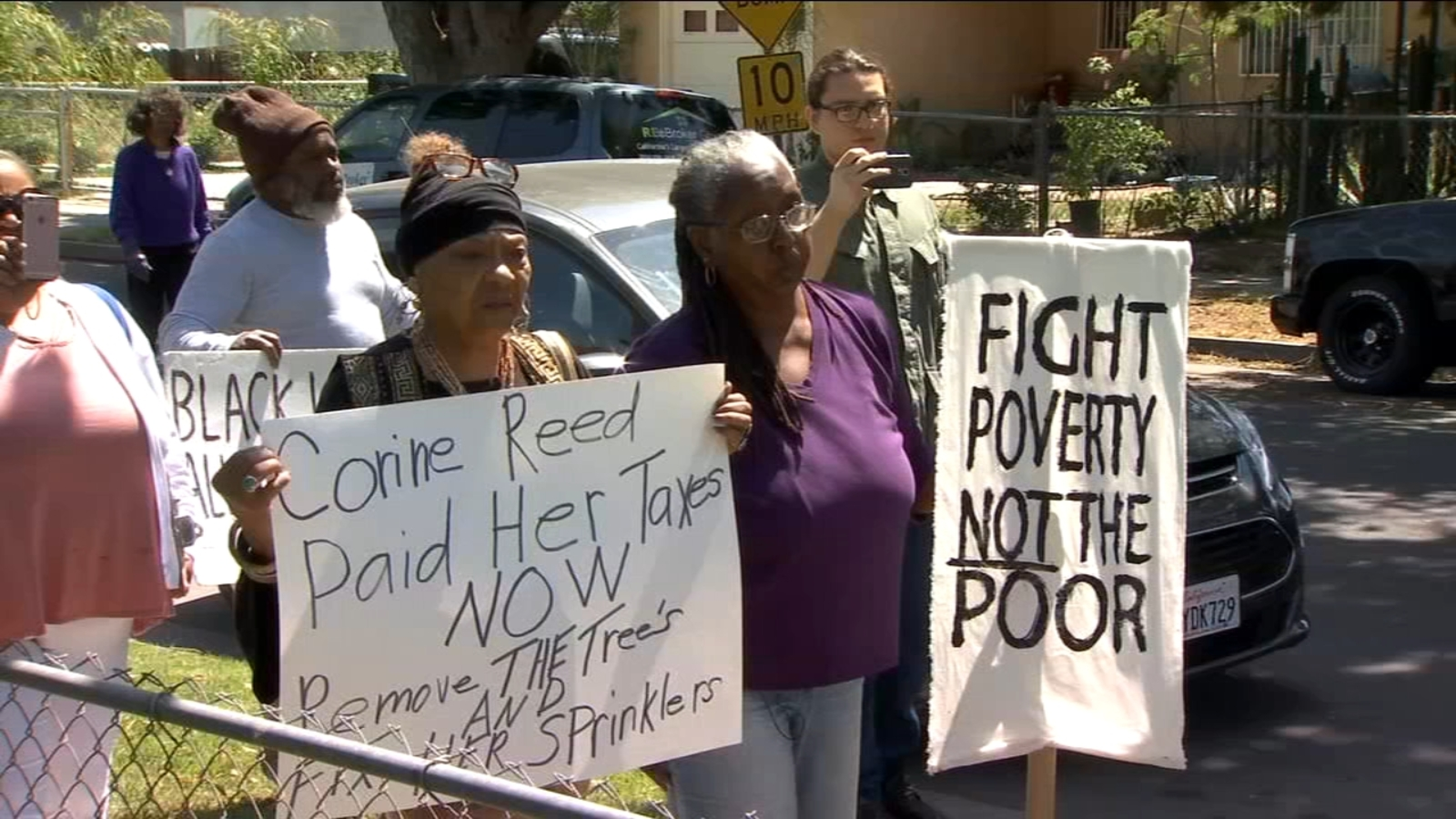 100-year-old Fresno woman locked in battle with city over tree in her yard