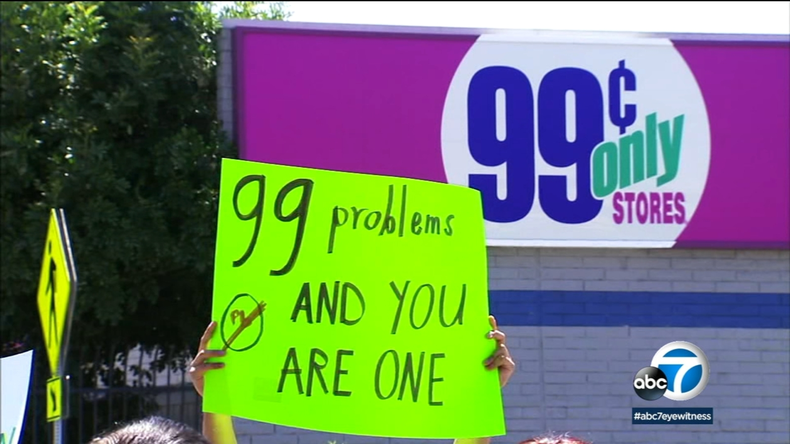 99 Cents Only stores carry products with toxic chemicals, protesters say