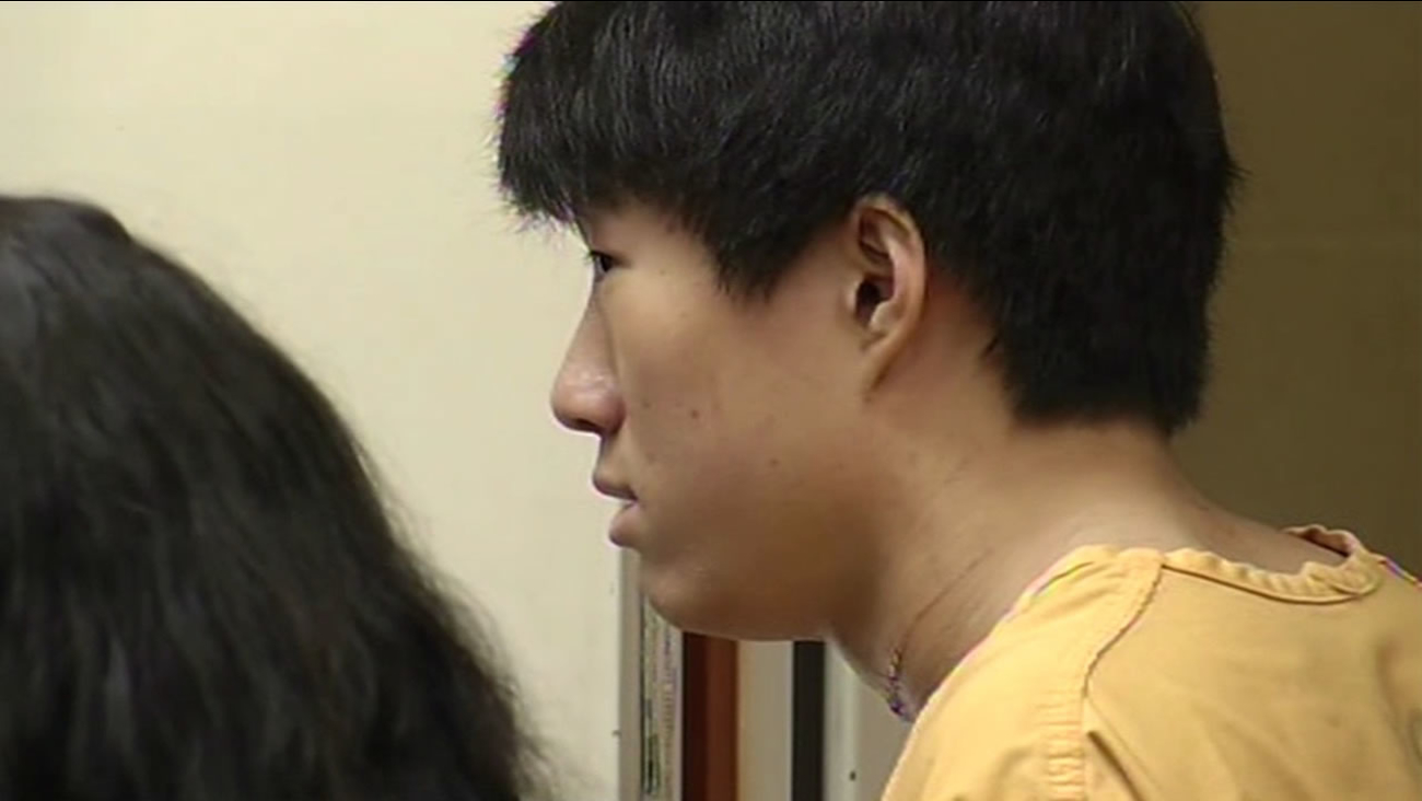 Santa Clara University student Dillon Kim, 19, was arraigned on attempted murder charges for allegedly stabbing his roommate.