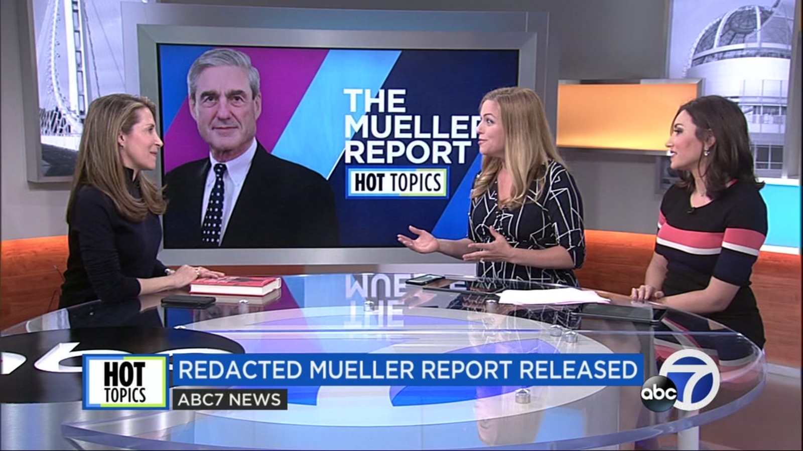 Veteran journalist Jessica Yellin dissects the Mueller Report on ABC7's Midday Live