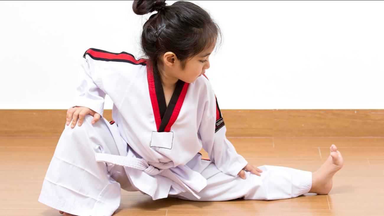 VIDEO: Tiny tot's taekwondo routine is powerful, positive