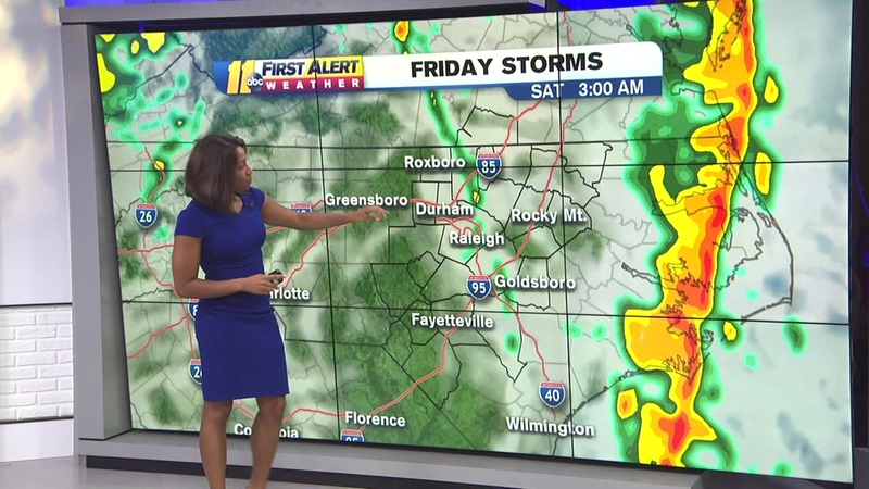 NC weather: Raleigh, Durham under enhanced risk for severe