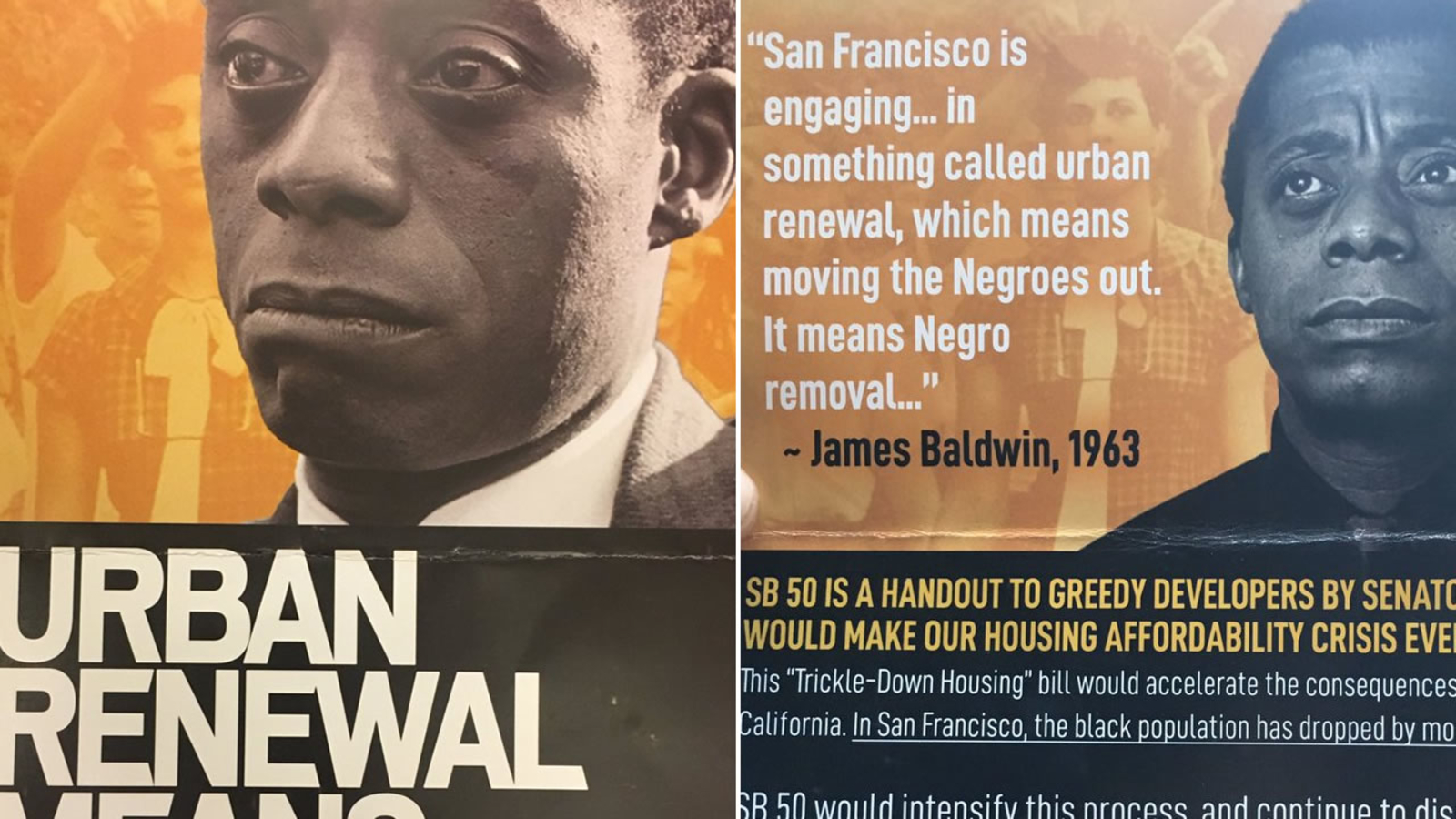 Racist Offensive Propaganda Sf Leaders React To Political Mailer