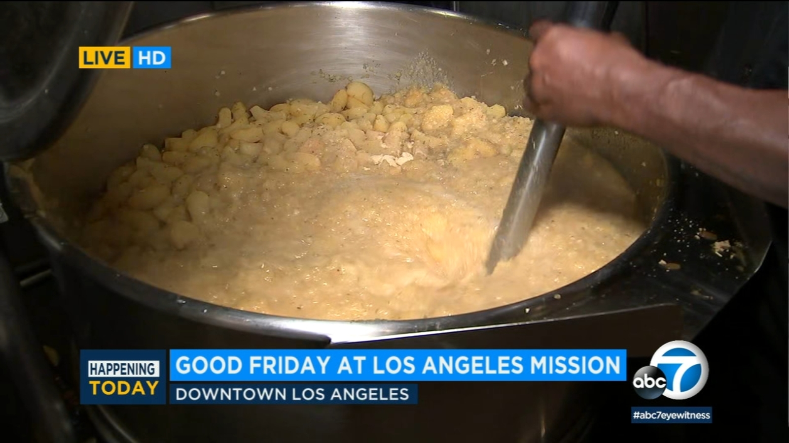 LA Mission serves sides of hope and love with Good Friday feast