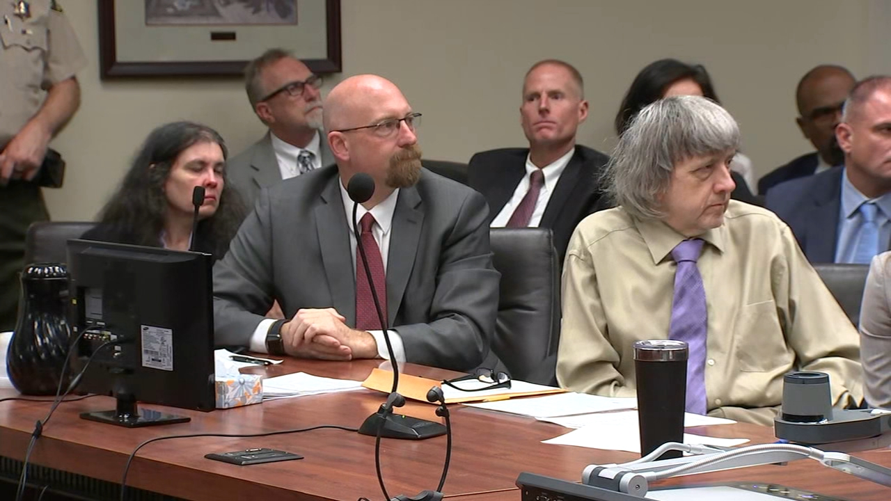 Perris torture case: David and Louise Turpin sentenced to 25