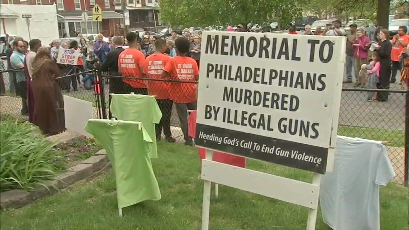 Members of several faiths rally to end Philadelphia gun violence