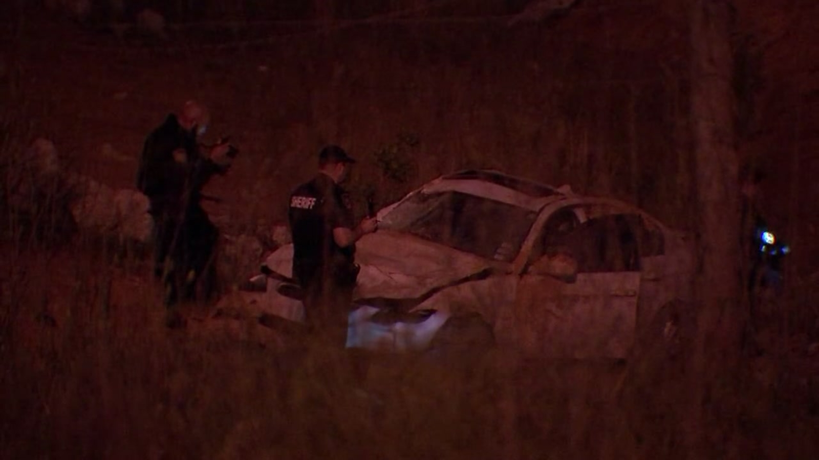 Woman found in fatal car crash after 48 hours in west Harris County