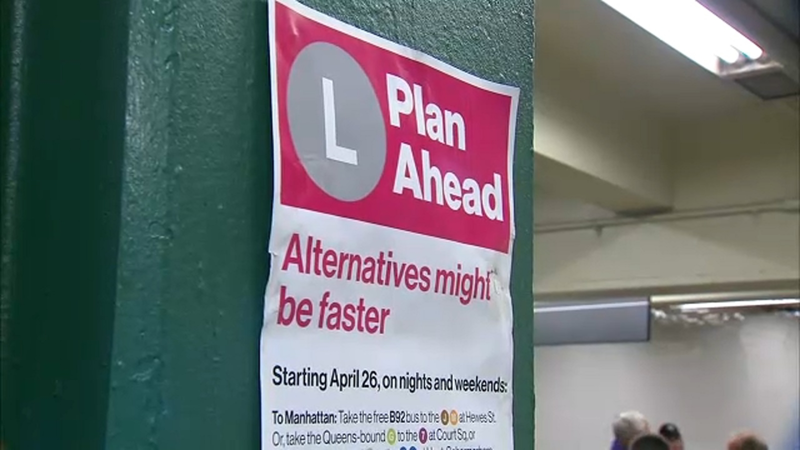 PLAN AHEAD: What to know before L train project begins