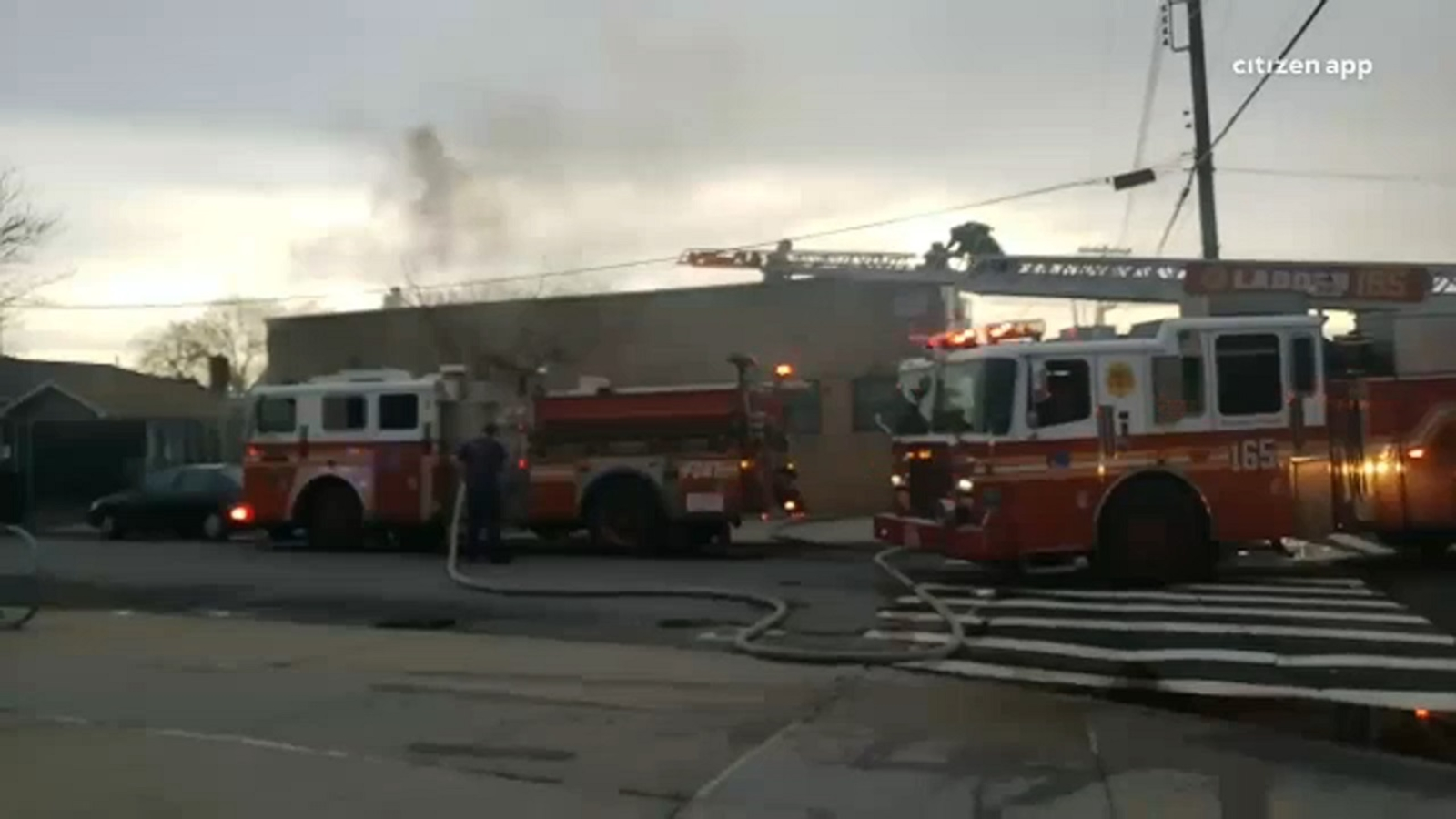 Fire breaks out at Queens school; no injuries