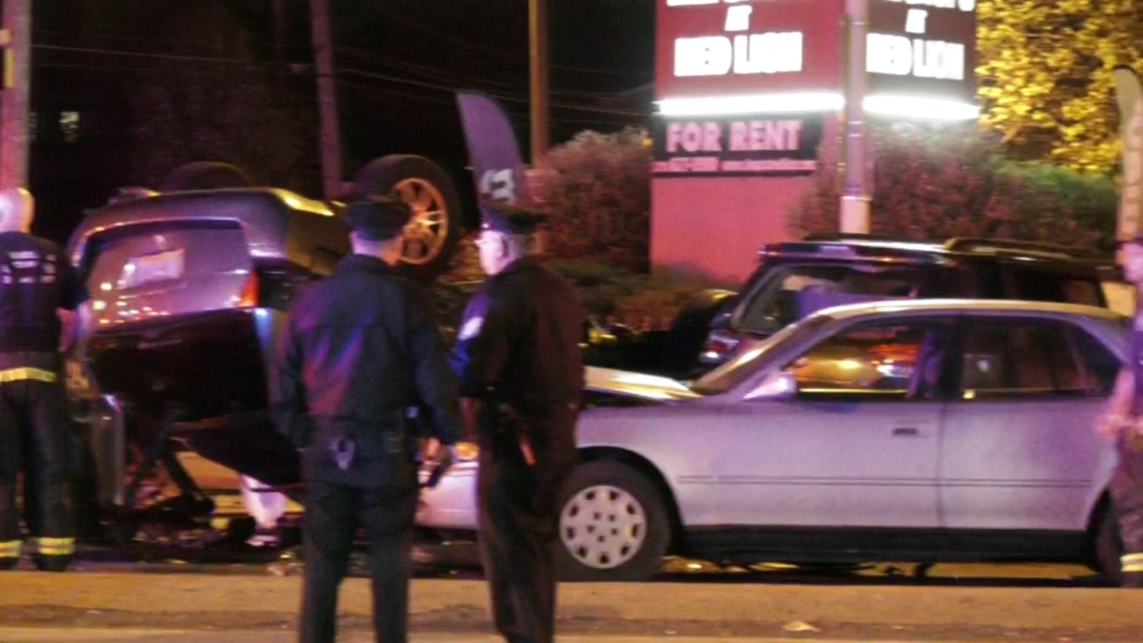 Two dead, five injured following 6-car hit-and-run crash in Northeast Philadelphia