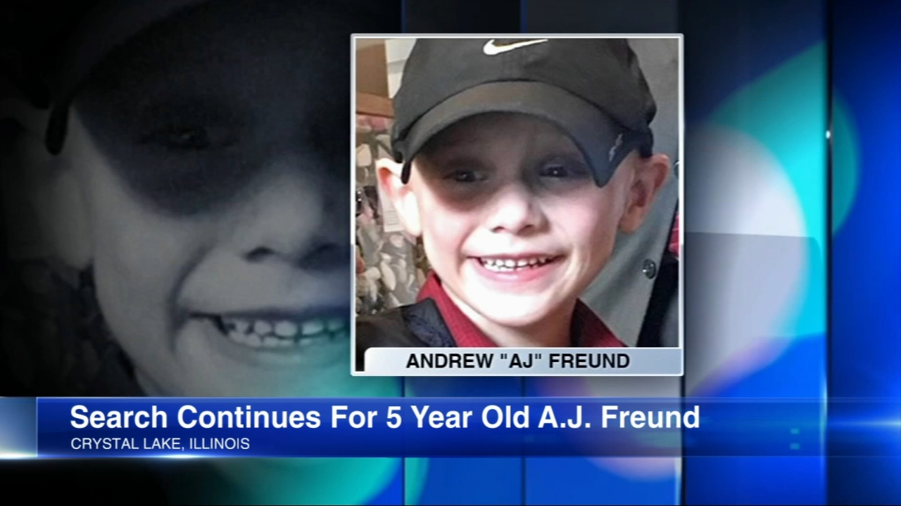 Crystal Lake Missing Boy Update Andrew Aj Freund S Father Vows Own Investigation Abc7 Chicago