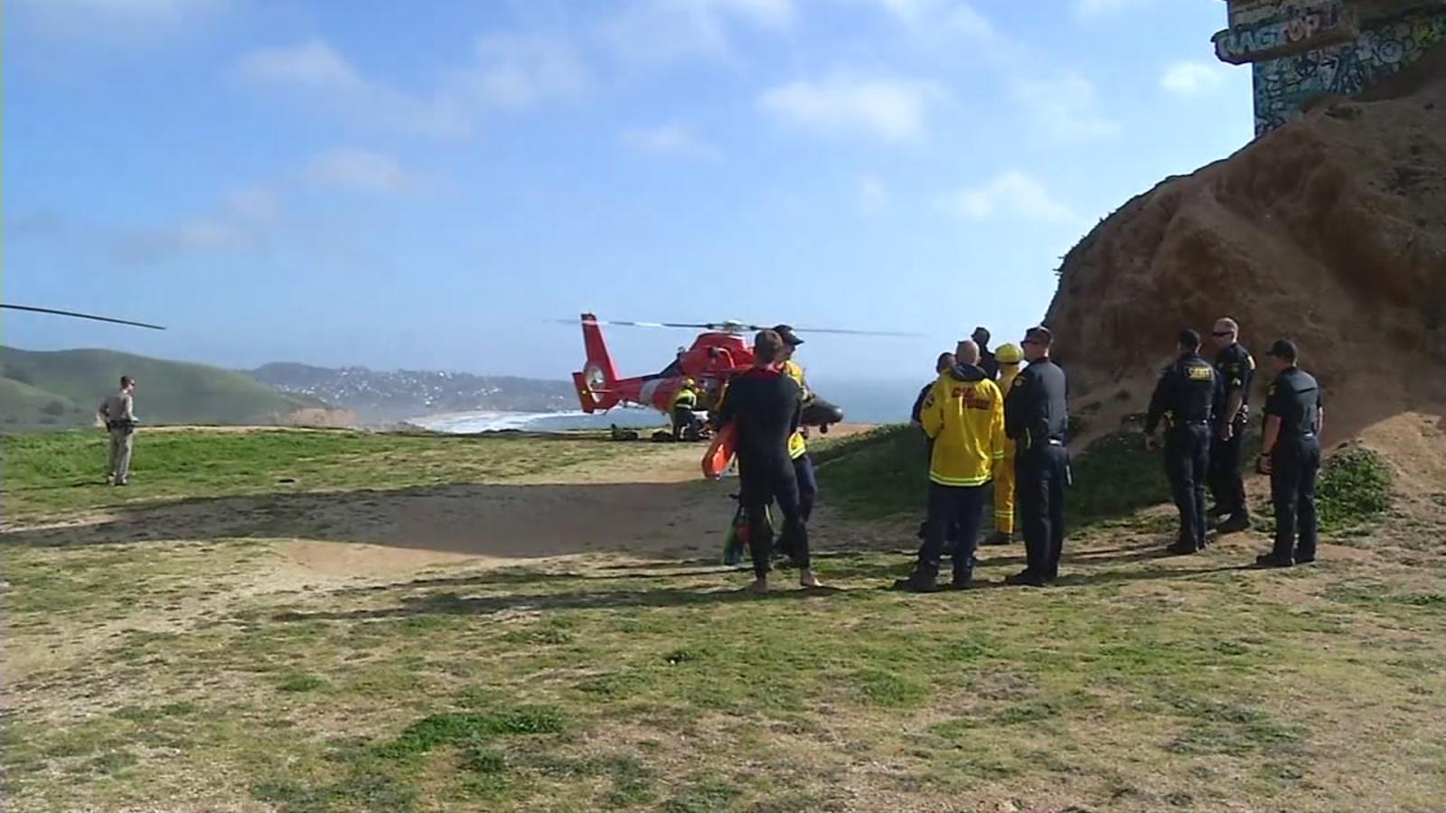 San Francisco man dies after crashing into Pacific Ocean while hang gliding