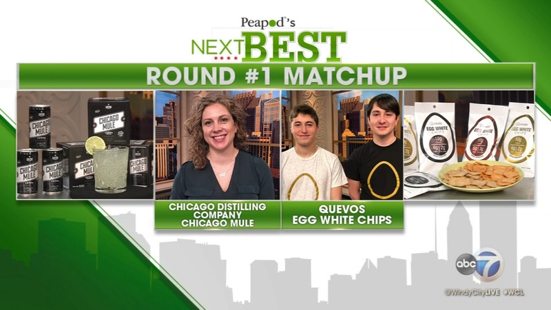 Peapod's Next Best Round No  1 Matchup: Chicago Mule vs  Egg White Chips