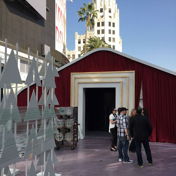 "<div class=""meta image-caption""><div class=""origin-logo origin-image none""><span>none</span></div><span class=""caption-text"">The stars will come out of this tent onto the Red Carpet on Oscars Sunday.</span></div>"
