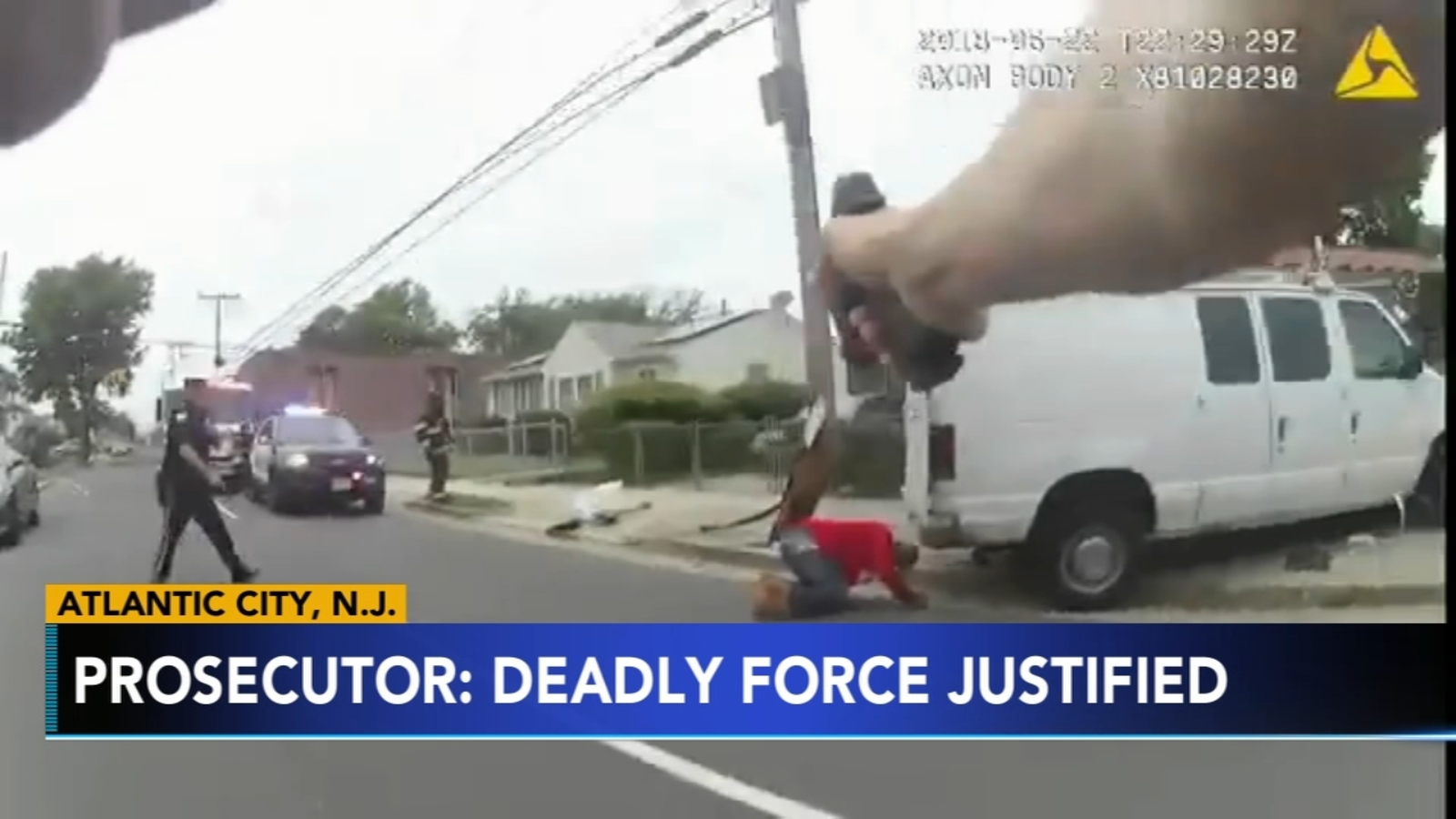Atlantic County Prosecutor: Police shooting after knife