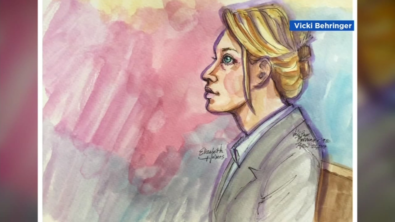 Theranos founder Elizabeth Holmes due in court