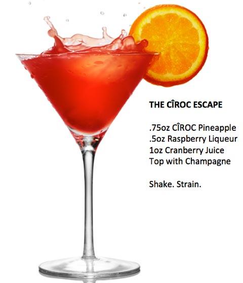 Chef Shayna's Ciroc Escape