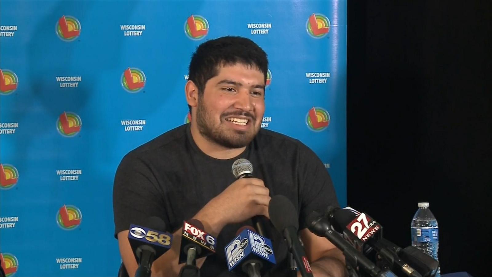 Manuel Franco Wisconsin Winner Of 7684m Powerball Jackpot Claims