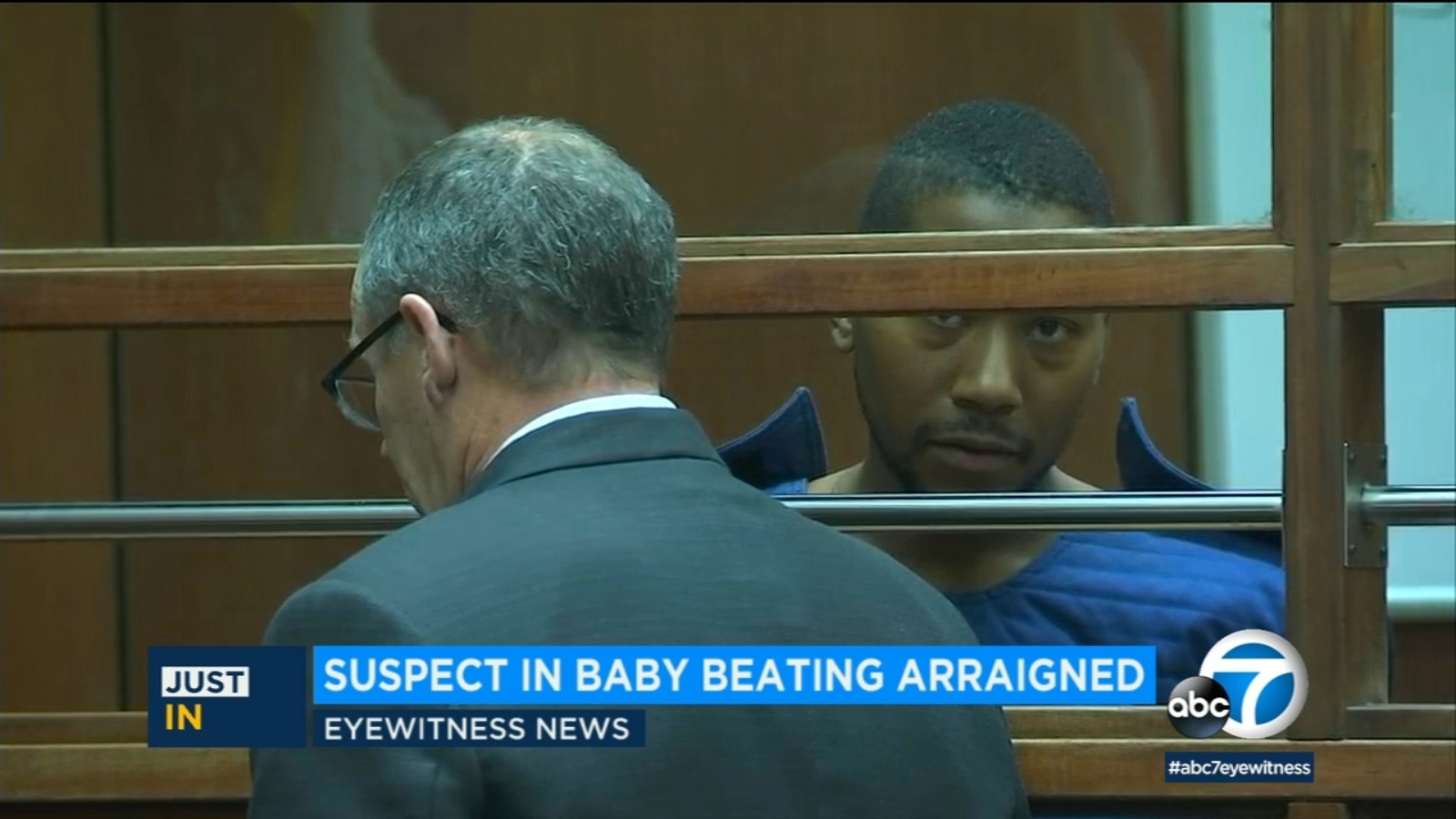 Father makes 1st court appearance after allegedly beating infant son in downtown LA