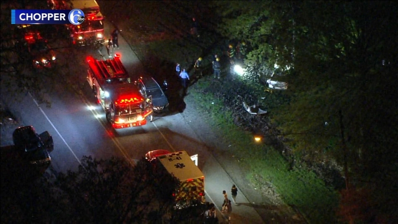 Driver Extricated From Car After Crashing Into Tree In Parkside